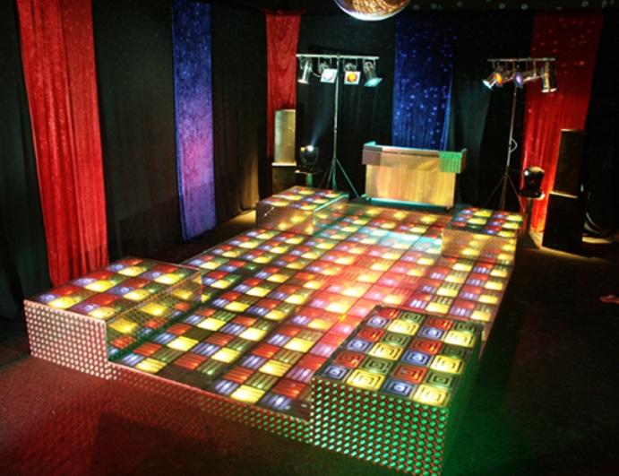 Verlichte Disco Vloer